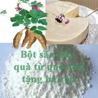 Mua bột sắn dây Quê chất lượng cao tại Hà nội ở đâu tốt ?