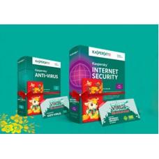 Kaspersky Internet Security và Kaspersky Anti-Virus tặng thêm bản quyền 06 tháng