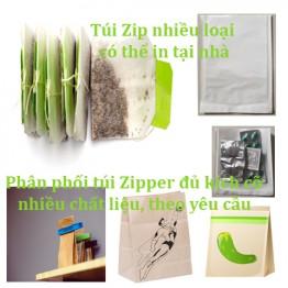 Cách in túi Zipper nhựa – giấy Kraft như nhà phân phối