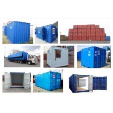 Container khô (kho), công-ten-nơ văn phòng, nhà công trình cho thuê