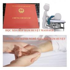 Học chứng chỉ hành nghề xoa bóp - bấm huyệt - masage có việc làm nhanh ?