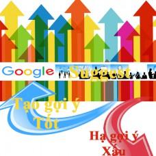 Lợi ích Dịch vụ [tạo-xóa] Google Suggest trên tốp đầu tìm kiếm