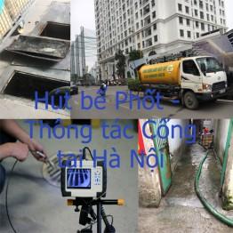 Làm sao để hút bể Phốt – thông tắc Cống sạch nhất ở Hà Nội
