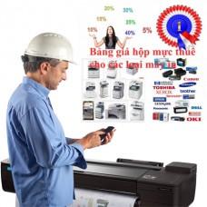 Lợi ích thuê hộp mực cho máy in laser (Trống-Trục từ-Gạt-Mực) chính hãng