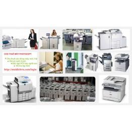 Máy photocopy cho thuê các loại